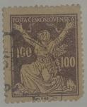 Stamps : Europe : Czechoslovakia :  Chainbreaker 100