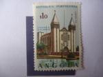 Stamps : Africa : Angola :  Catedral en Sá Da Bandeira