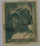 Stamps Cuba -  Theodore Roosevelt 4c