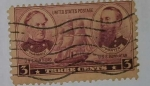 Stamps United States -  Three Cents