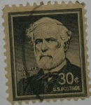Stamps United States -  Roberto E.Lee 30c
