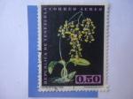 sellos de America - Venezuela -  Orquidea - Oncidium Bicolor Lindl - Epidendrum Atropureum