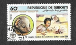 Sellos del Mundo : Africa : Djibouti : 28º Congreso Mundial de Scouts