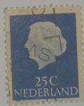 Stamps : Europe : Netherlands :  Holanda 25c