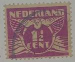 Stamps Netherlands -  Holanda 1 1/2 c