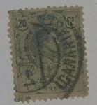 Stamps Spain -  20 ctvs