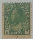 Stamps Canada -  Two Cents