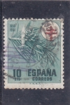 Stamps : Europe : Spain :  pro-tuberculosos (38)