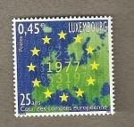 Sellos de Europa - Luxemburgo -  25 AñosTribunal de Cuentas europeo