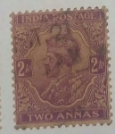 Stamps India -  India 2 annas
