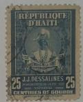 Stamps Haiti -  25 centimes de Gourde