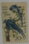 Stamps United States -  U.S. Air Mail 20c