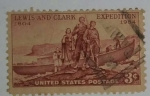 Stamps : America : United_States :  Lewis and Clark Expedition 3c