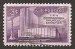 Sellos del Mundo : America : Estados_Unidos : 613 - Exposición filatélica internacional de New York, Coliseum