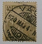 Stamps Czechoslovakia -  40 Filler