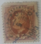 Stamps Sweden -  15 ore