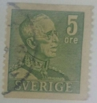 Stamps Sweden -  5 ore