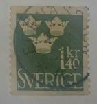 Stamps Sweden -  1.40 kr