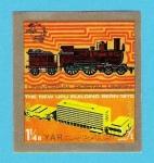 Stamps Yemen -  UNIVERSAL  POSTAL  UNION