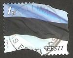 Stamps : Europe : Estonia :  699 - Bandera Nacional