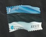 Sellos del Mundo : Europa : Estonia : Bandera Nacional