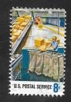 Sellos de America - Estados Unidos -  985 - Homenaje a los 700.000 trabajadores del Servicio Postal