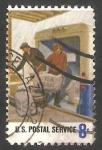 Stamps : America : United_States :  989 - Homenaje a los 700.000 trabajadores del Servicio Postal