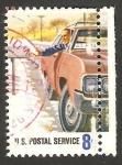 Stamps : America : United_States :  991 - Homenaje a los 700.000 trabajadores del Servicio Postal