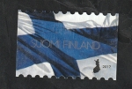 Stamps : Europe : Finland :  2452 - Bandera nacional