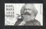 Stamps : Europe : Germany :  Karl Marx