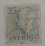 Stamps : Europe : Sweden :  25 ore