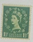 Stamps United Kingdom -  1. 1/2 d