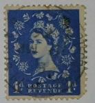 Stamps : Europe : United_Kingdom :  1d