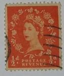 Stamps United Kingdom -  1/2d