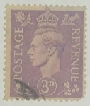 Stamps United Kingdom -  3d