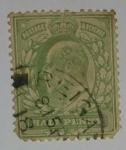Stamps United Kingdom -  Half Penny