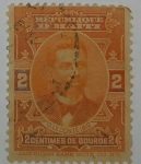 Stamps : America : Haiti :  2 centimes de Gourde