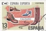 Stamps : Europe : Spain :  España exporta calzado (38)