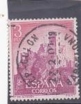 Sellos de Europa - España -  castillo de Almansa (38)