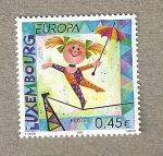 Stamps Luxembourg -  Europa