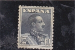 Stamps : Europe : Spain :  Alfonso XIII (38)