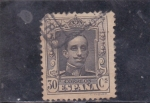 Stamps : Europe : Spain :  Alfonso XIII- tipo Vaquer (38)
