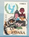 Sellos de Europa - España -  Unicef (972)