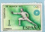 Sellos del Mundo : Europa : España : Olimpiada Munich (977)