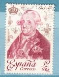 Sellos del Mundo : Europa : España : Carlos IV (248)