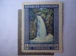 Sellos del Mundo : America : Rep_Dominicana : Salto de Jimenoa - Jarabacoa, provincia la Vega.