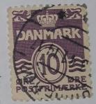 Stamps : Europe : Denmark :  Danmark 10 ore