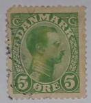 Stamps Denmark -  Danmark 5 ore