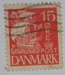 Stamps Denmark -  Danmark 15 ore