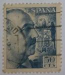 Sellos del Mundo : Europa : España : Franco 50 ctvs